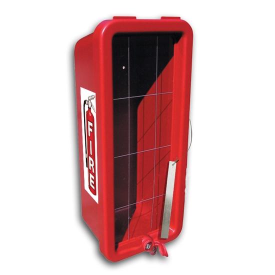 Cato Chief Plastic Fire Extinguisher Cabinet W Breaker