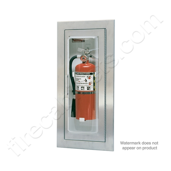 Larsen S Semi Recessed 5 16 Fire Extinguisher Cabinet Mp5