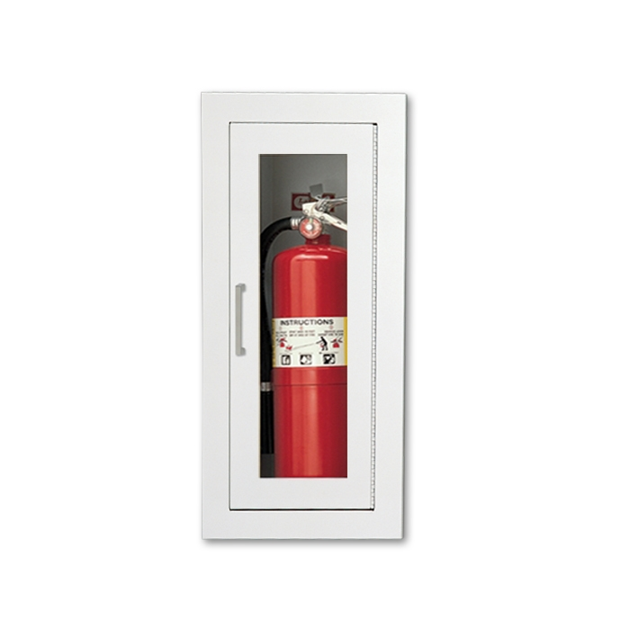 larsen s semi recessed fire rated fire extinguisher cabinet mp5 rh firecabinets com