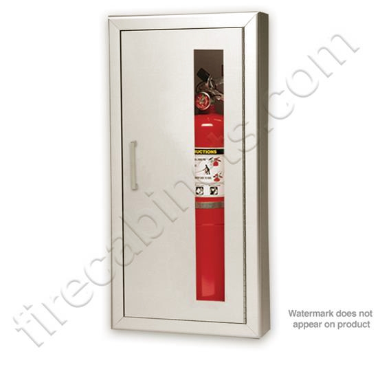 larsen s stainless steel semi recessed 2 1 2 projection fire rh firecabinets com